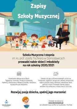 Czytaj więcej: Zapisy do Szkoły Muzycznej